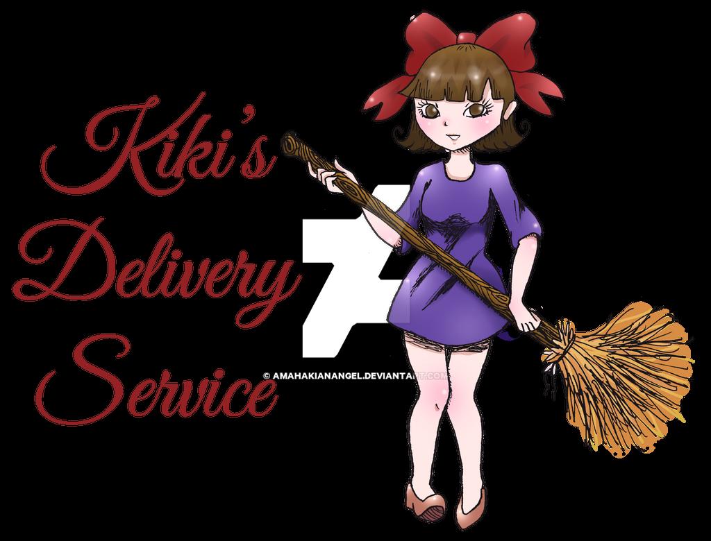 Kiki's Delivery Service by amahakianangel