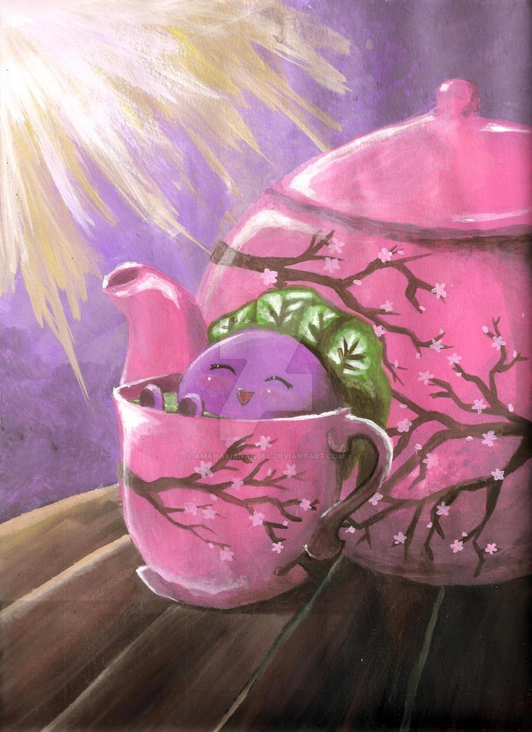 Oddish Painting! by amahakianangel
