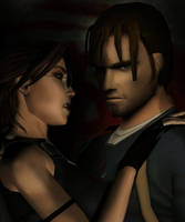 Lara and Kurtis by Bunzzz