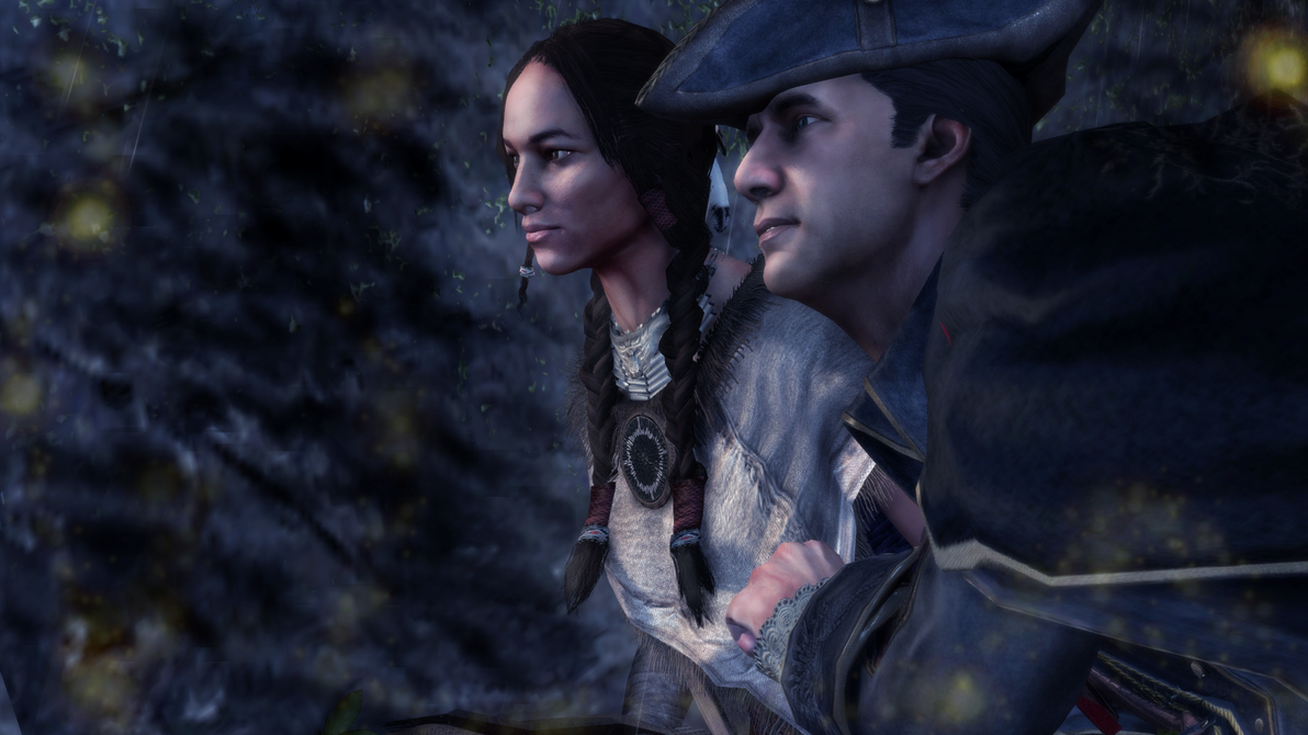 Ziio and Haytham by Bunzzz