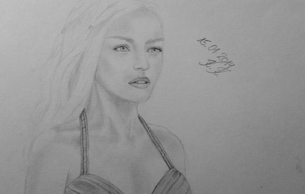 Daenerys Targaryen by Bunzzz