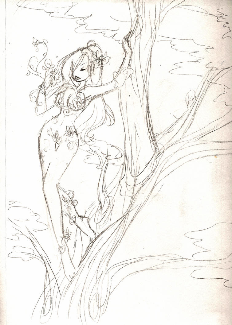 Poison Ivy at Peace by aichan25