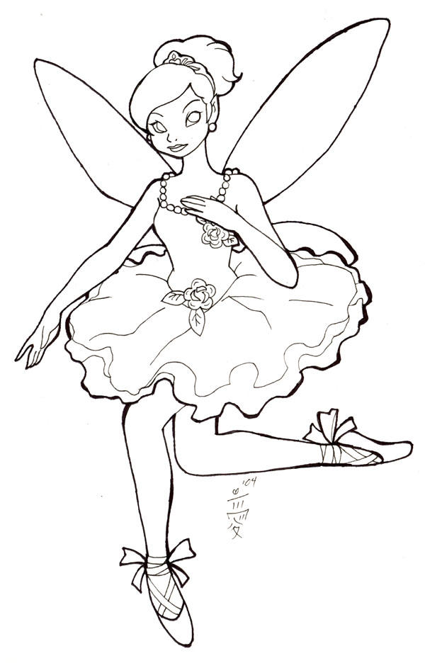 i love tinkerbell coloring pages - photo#47