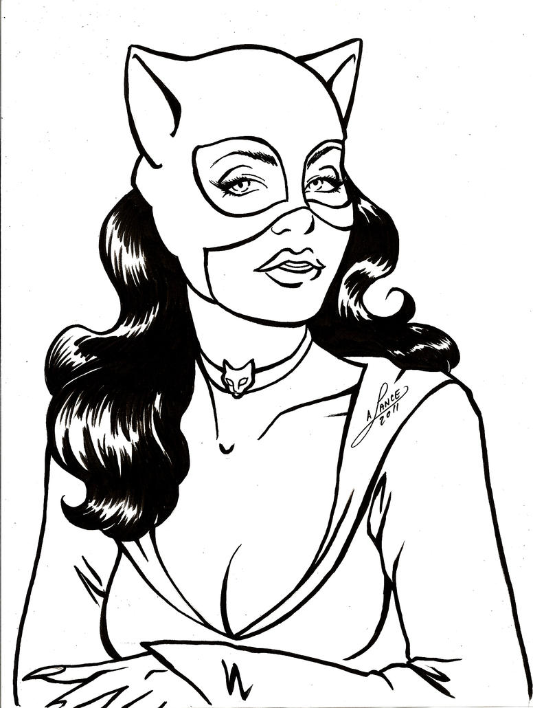 Classic Catwoman Bust by aichan25 on DeviantArt