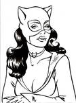 Classic Catwoman Bust