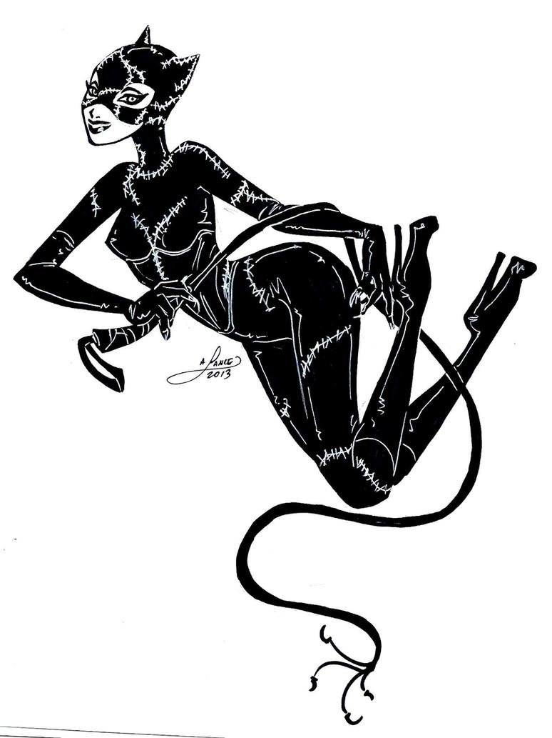 Catwoman by aichan25