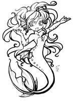 Chibi Mermaid by aichan25