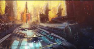 Sci-fi Citscape