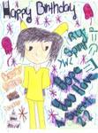 Happy Birthday Ry-Spirit X3 by Foxyvulpixie