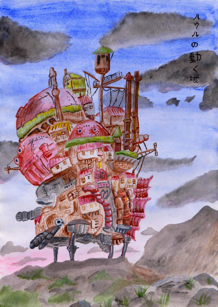 Howl's Moving Castle by CuriousBunnyClothing