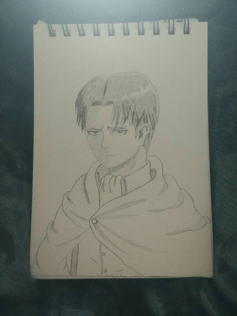 Captain Levi- critique needed by CuriousBunnyClothing