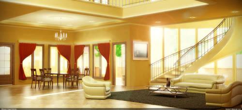 Clasic Interior by kiekie21