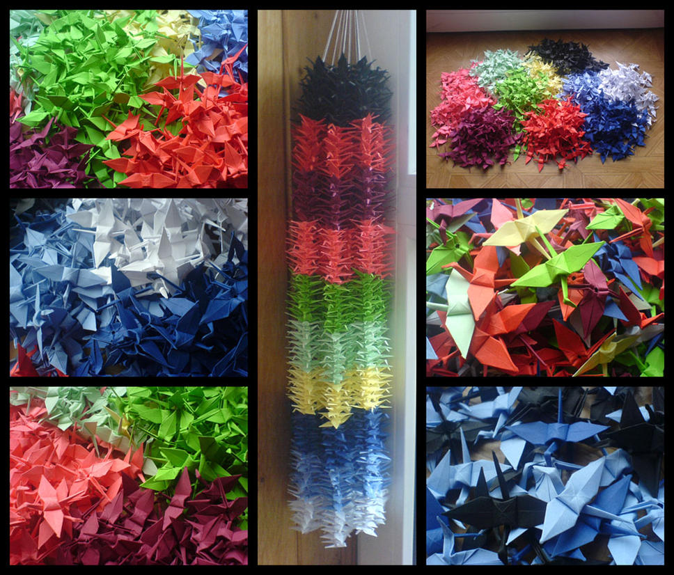 1000 cranes by lonely--soldier