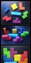 Origami Tetris