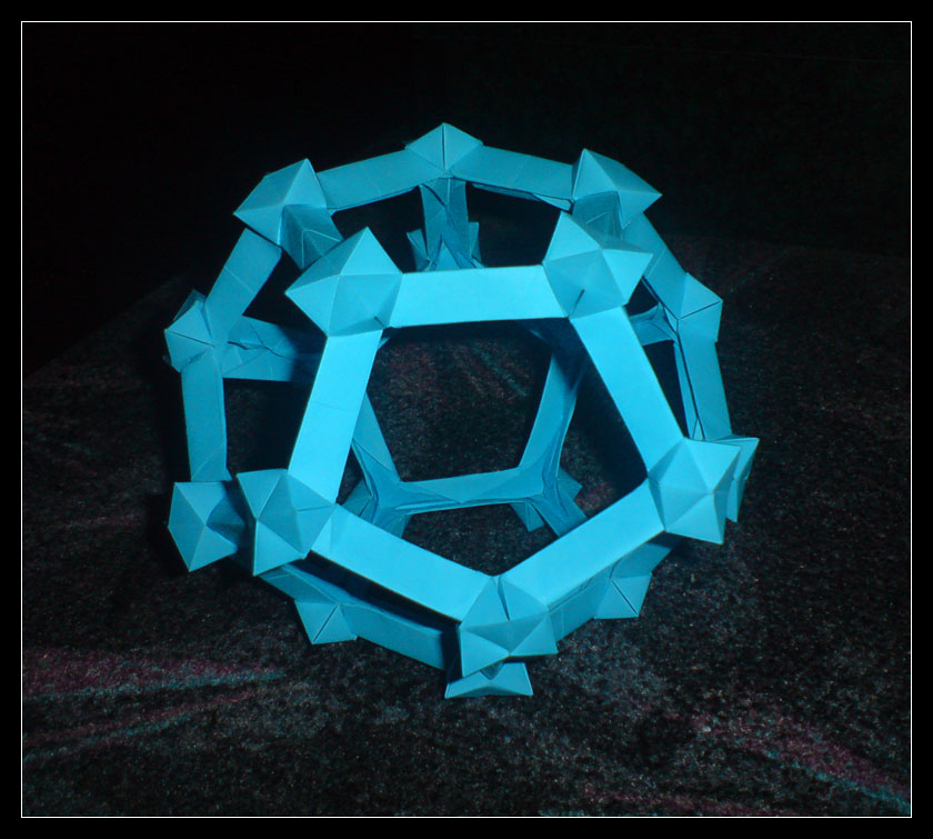Tessellated Dodecahedron by lonely--soldier