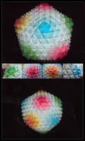 Big Sonobe Origami Ball