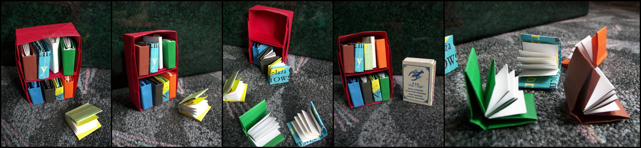 Origami Books by lonely--soldier