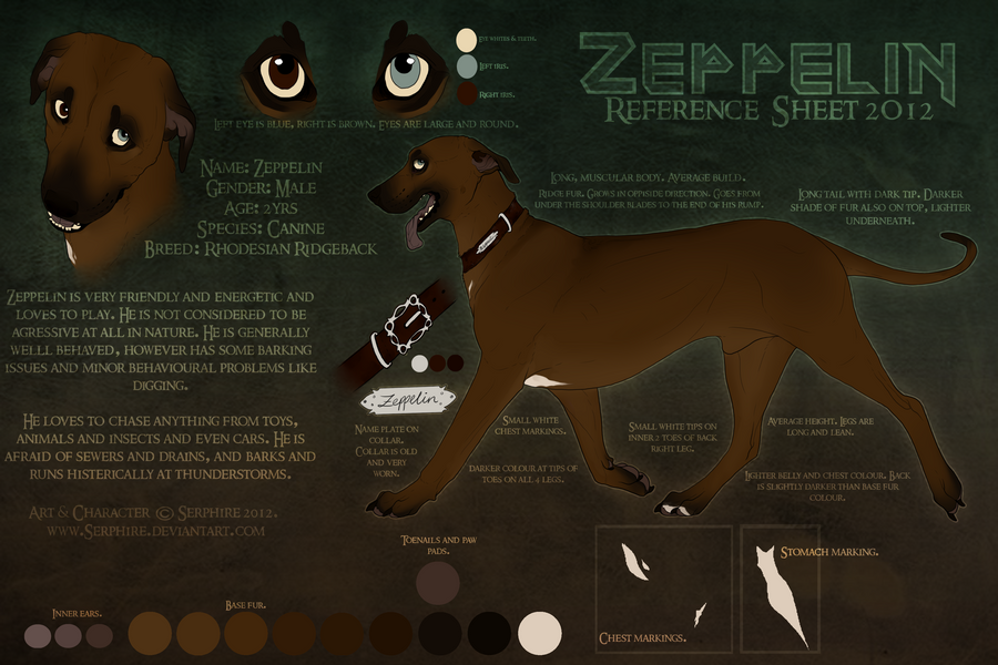 Zeppelin Reference 2012. by Serphire