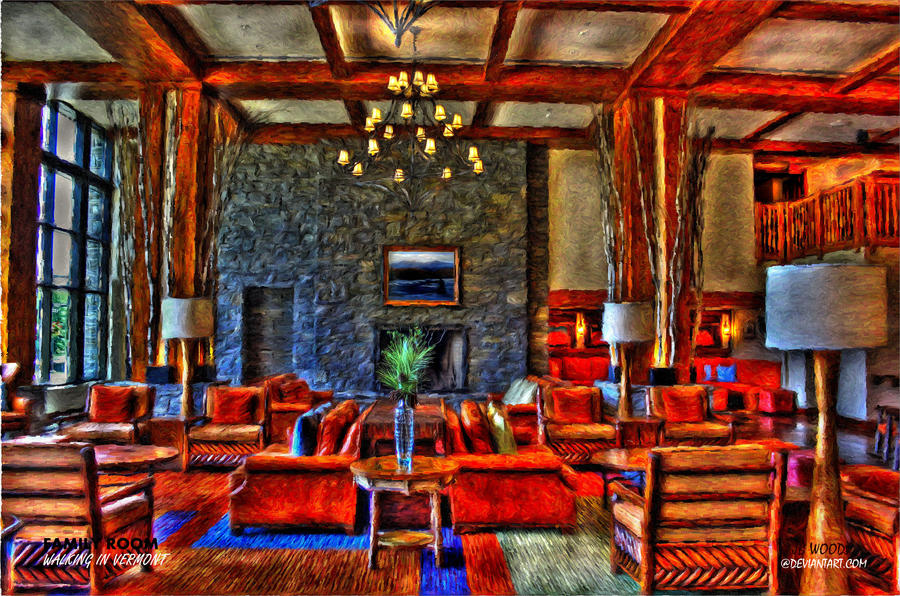 Family room walking in vermont by jbwoods on deviantart for The family room vermont