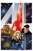 Fantastic 4 Giant Size1 cover by guillembe