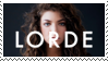 lorde stamp by barkingkid
