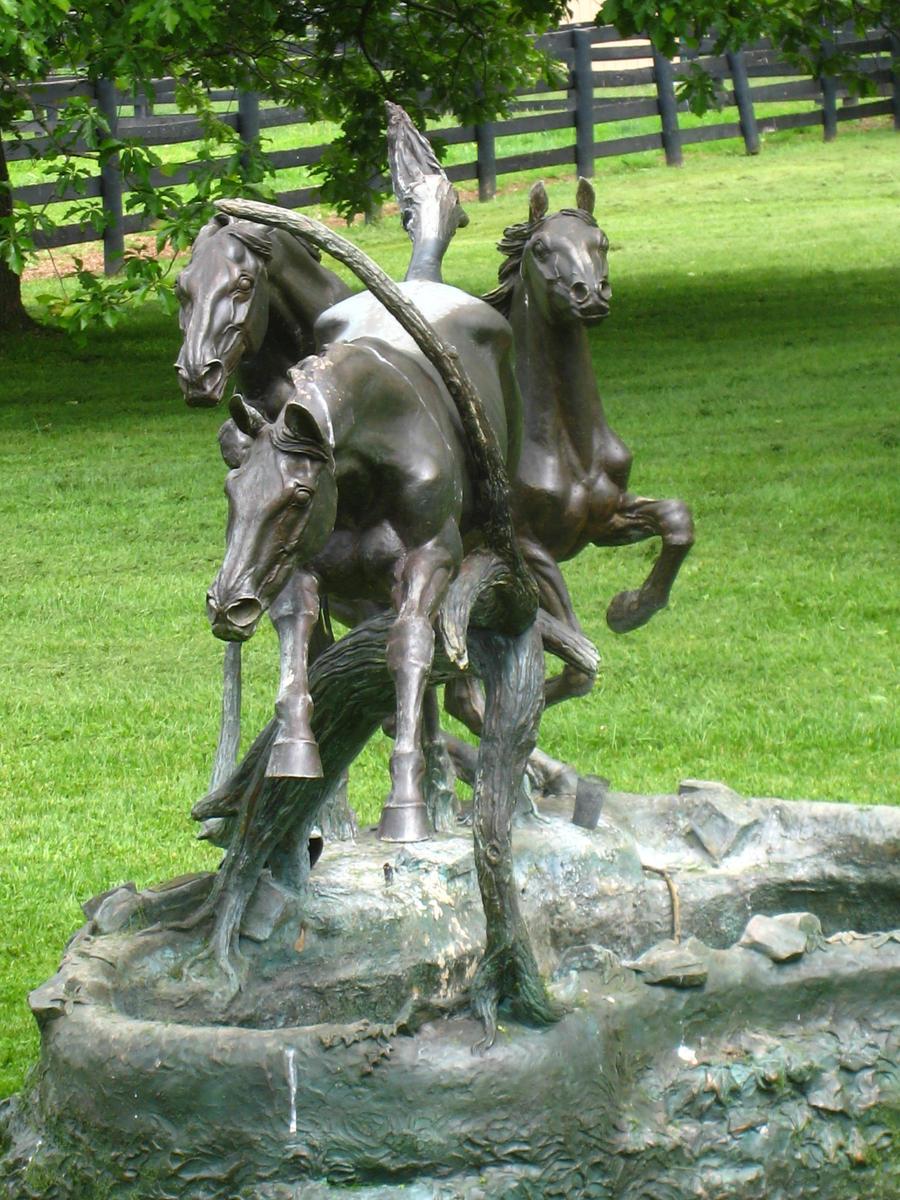 Jumping Horses by shinigamisgem