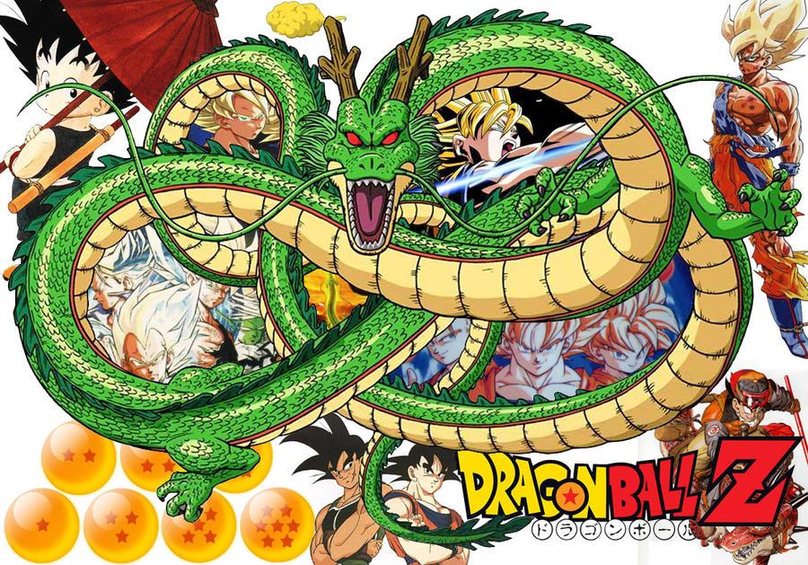 DBZ Goku Collage by shinigamisgem