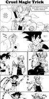 Cruel Magic Joke by shinigamisgem