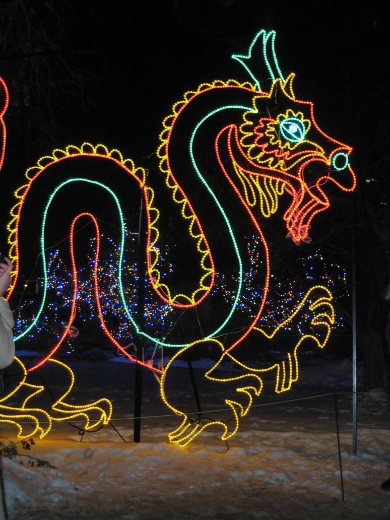 Dragon of Lights by shinigamisgem