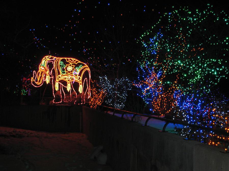 Elephant Lights by shinigamisgem