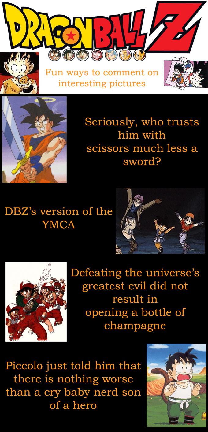 DBZ Fun 9 by shinigamisgem