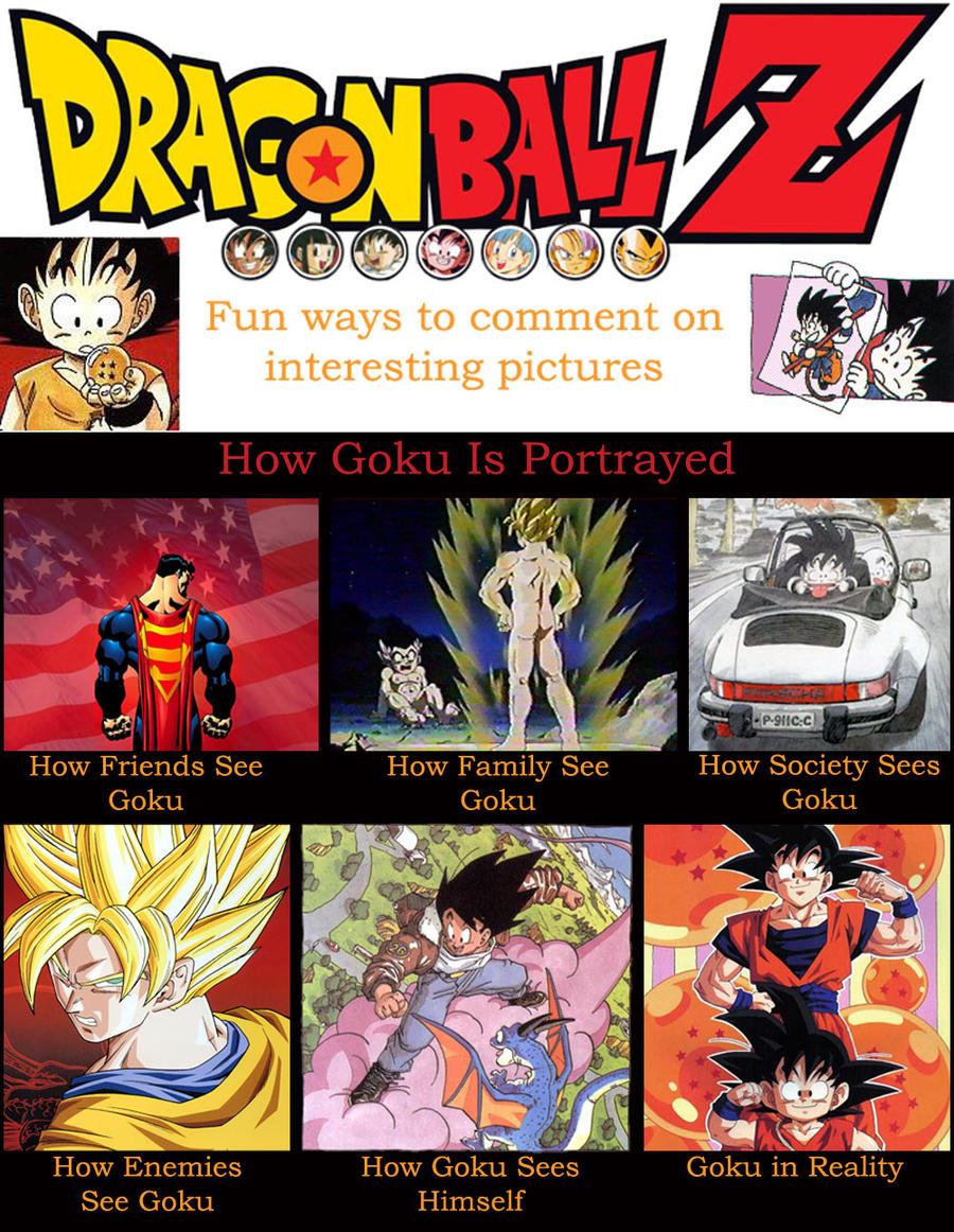 Goku Meme by shinigamisgem