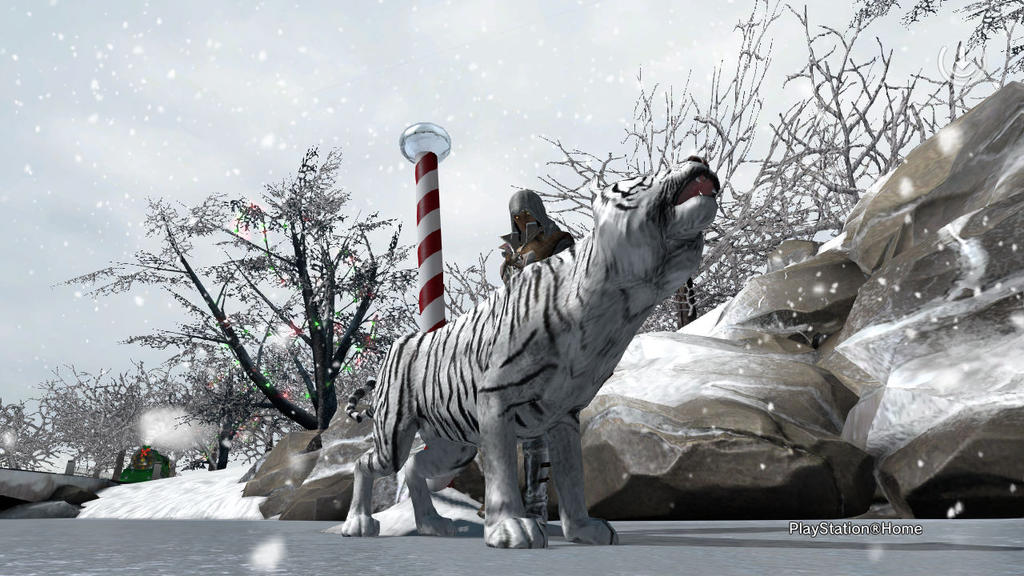PSN Snow Tiger by shinigamisgem
