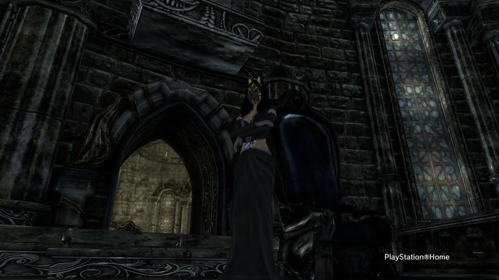 PSN My Dark Throne by shinigamisgem