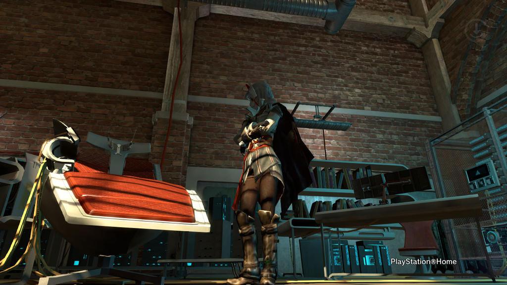 PSN Assassin's Animus by shinigamisgem