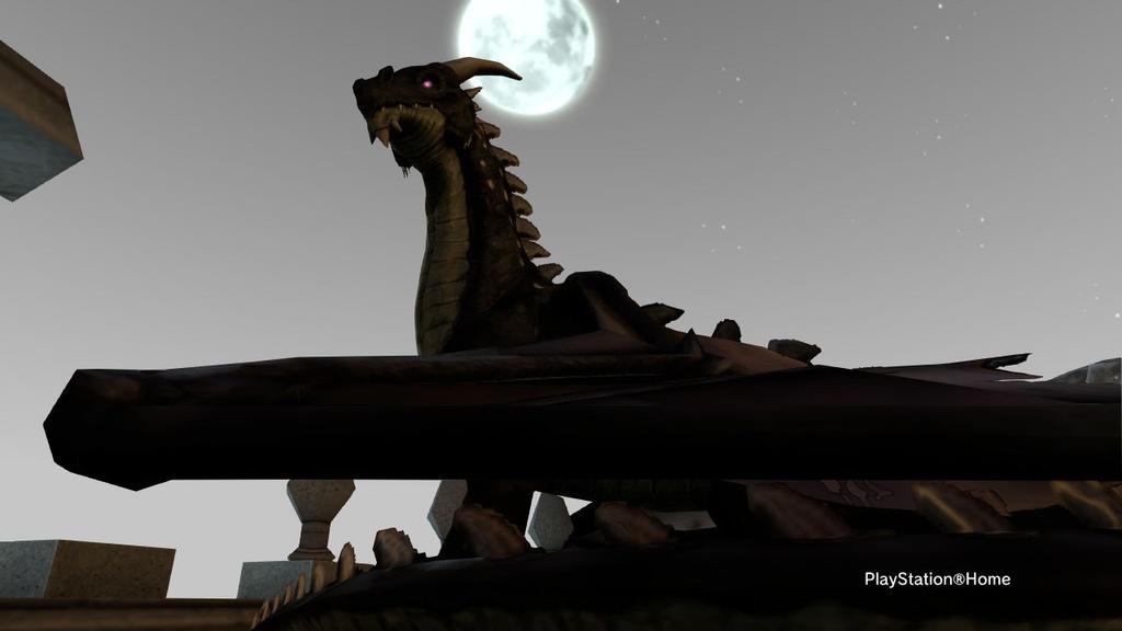PSN Dragon's Moonlight by shinigamisgem