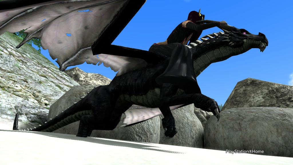 PSN Dragon Rush by shinigamisgem