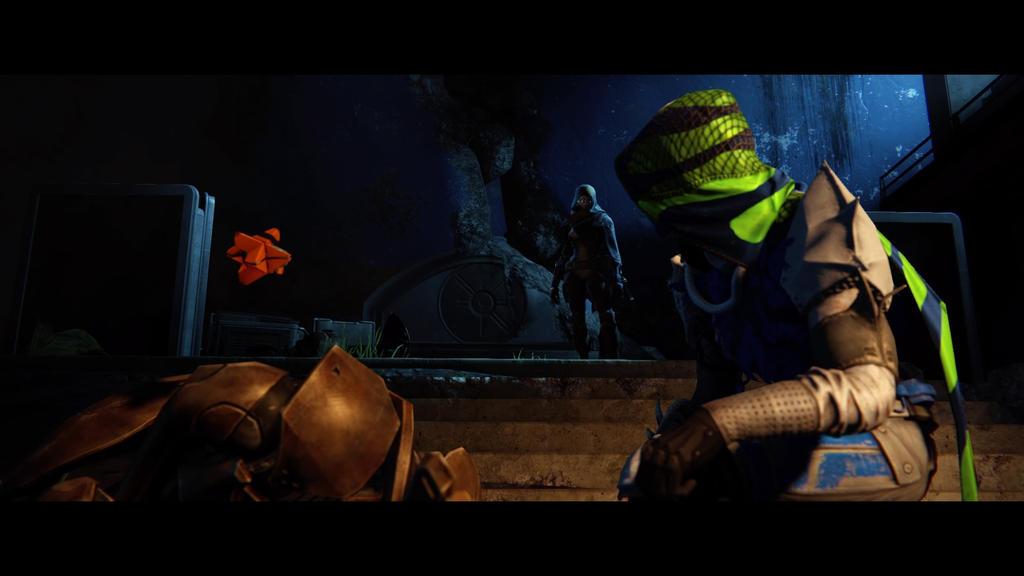 Destiny Meet The Secret Ally by shinigamisgem