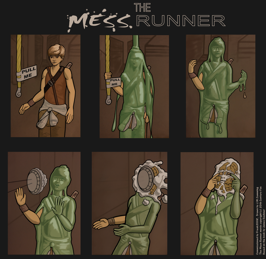 Commission: The Mess Runner by bakerman70
