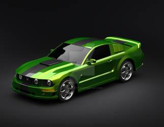 Ford Mustang 2 by ahmadiftikhar