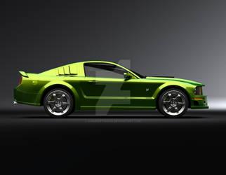 Ford Mustang 3 by ahmadiftikhar