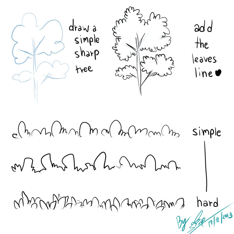 Simple Tree Tutorial by linnil