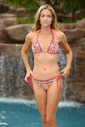DENISE-RICHARDS-in-Bikini-on-a-Photoshoot-at-Her-H