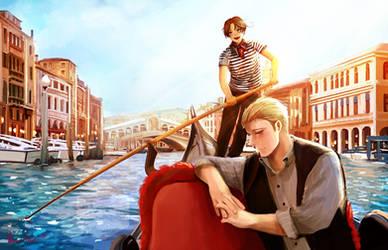 Serenaded in Venice by hana-tox