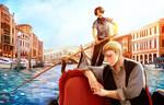 Serenaded in Venice
