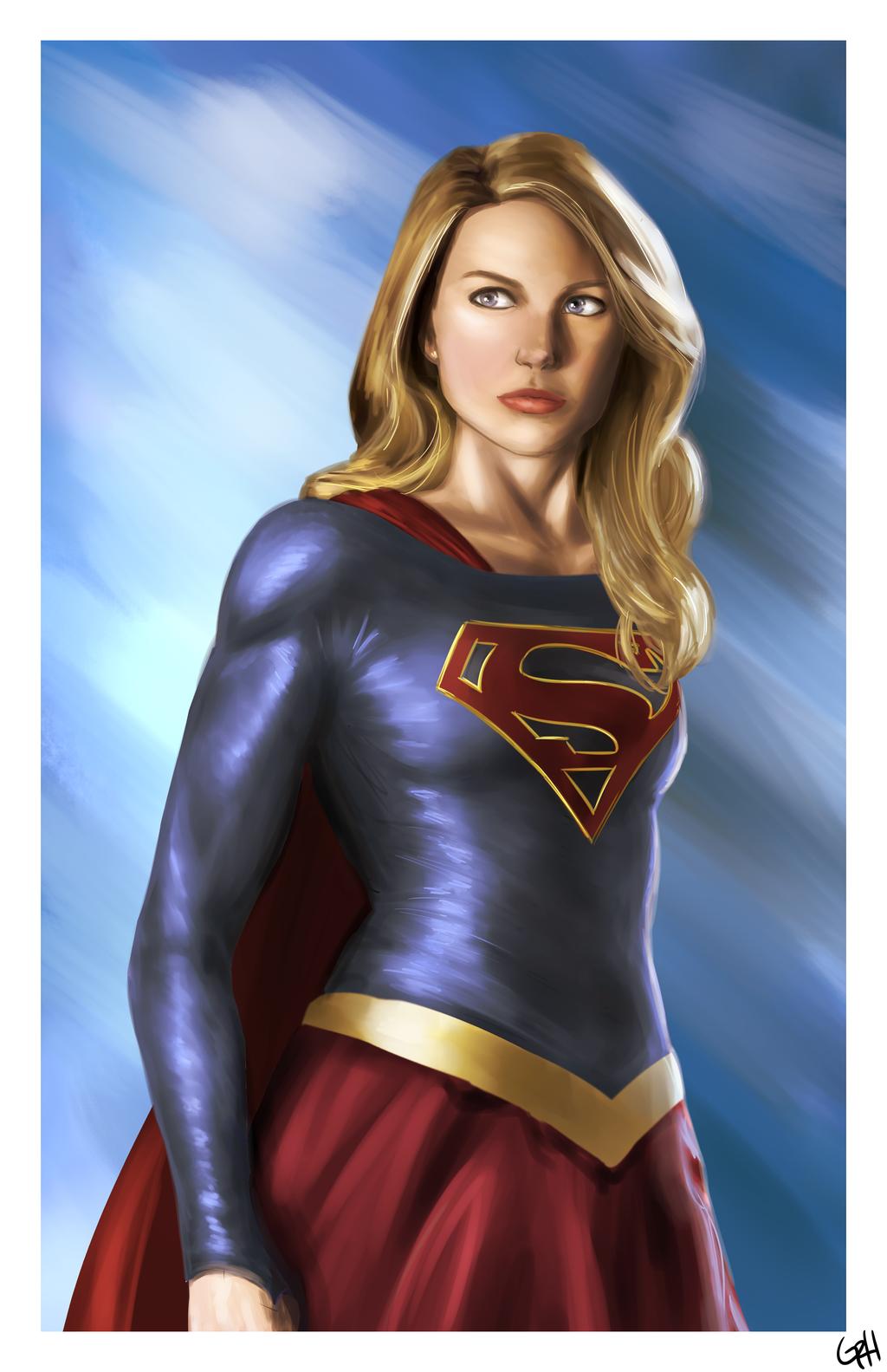 Supergirl by GiannaRoseH