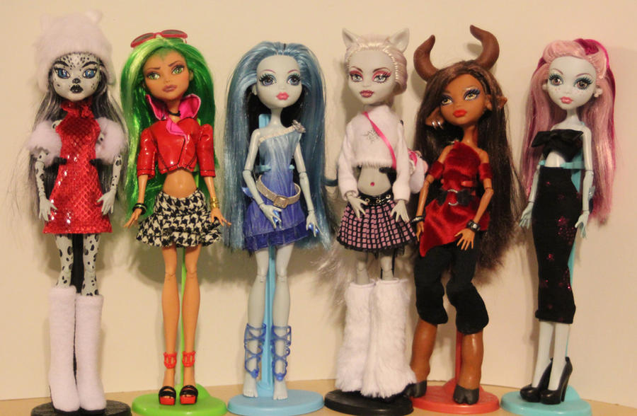 Monster High my collection by rainbow1977