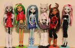 Monster High my collection