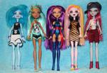 OOAK Monster High doll customs