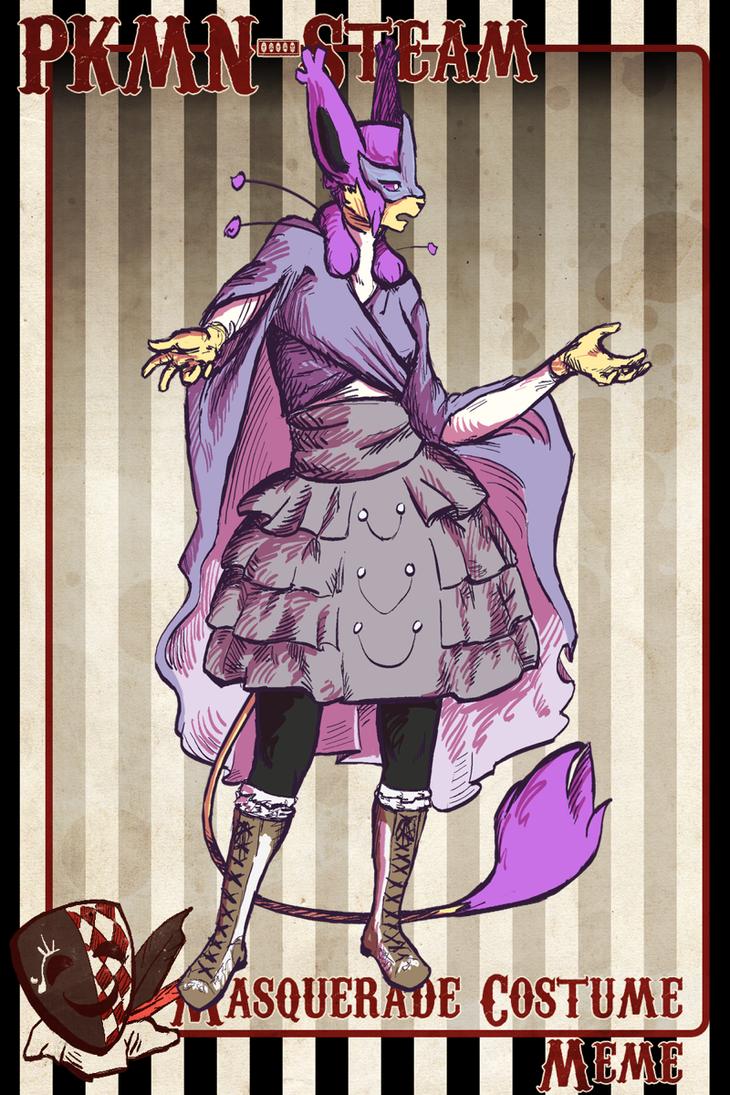 Masque: The Purple Moth by VirtualManectric